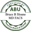 Certified by ABU American Board of Urology